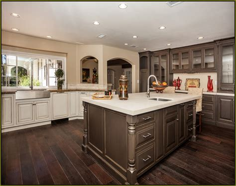 glazed kitchen cabinets colors the best kitchen colors with oak cabinets home design ideas 3836