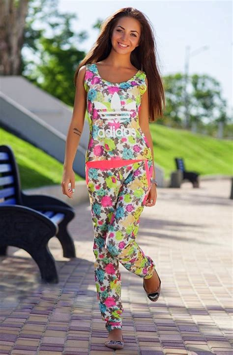 adidas floral jumpsuit jumpsuit adidas floral flowered shorts tracksuit pink
