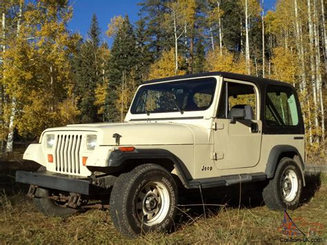 adult owned jeep yj wrangler survivor  original  miles