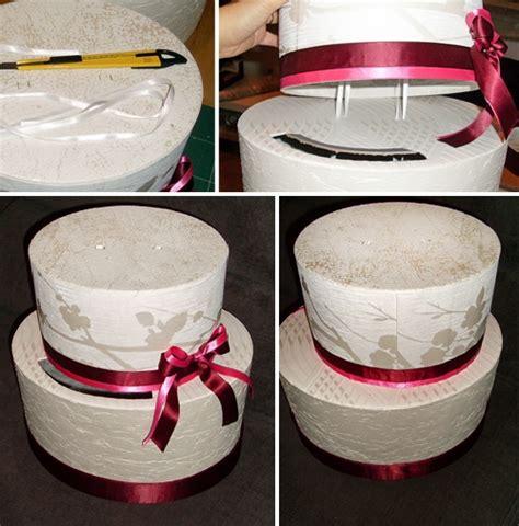 coffre canapé création urne mariage gâteau pas 7 déco