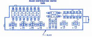Jeep Wrangler 1996 Power Distribution Center Fuse Box  Block Circuit Breaker Diagram