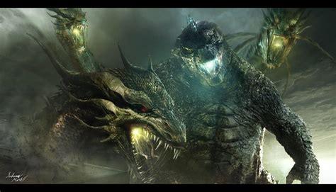 Godzilla Vs. King Ghidorah In The 2019 Film