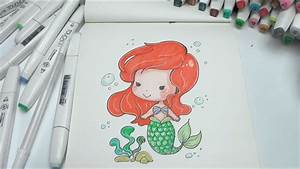 How to Draw Mermaid Easy Step by Step DIY - YouTube