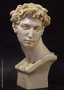 Busto de Juliano de Medici Mármol 60cm Esculturas decorativas