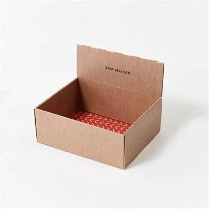 Packaging Box Safe Pop Mailer Lock Carton
