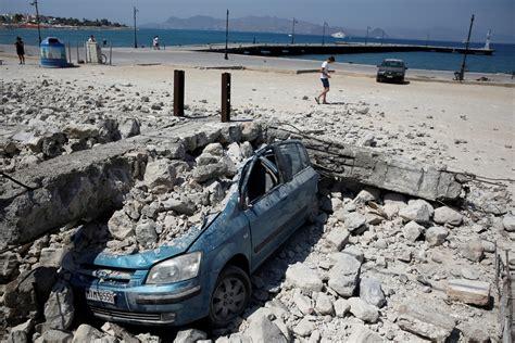 greece  turkey  earthquake kills  tourists
