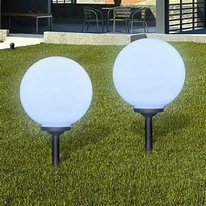 Boule Lumineuse Exterieur Solaire : eclairage exterieur boule ~ Edinachiropracticcenter.com Idées de Décoration