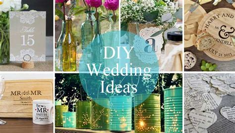 diy wedding ideas flowers favours and fab table decor
