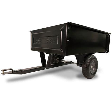 agri fab  cu ft steel dump cart    home depot