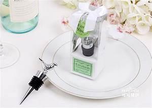 love bird chrome wine bottle stopper wedding bridal shower With wedding shower gifts for men