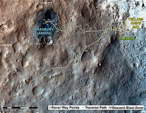 Curiosity rover Celebrates 1 Year on Mars with Dramatic ...