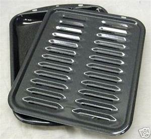 General Electric Broiler Pan Rack Oven Range Stove Broil ...