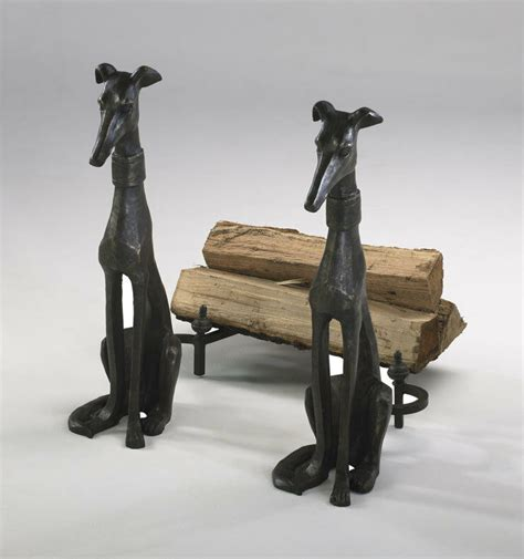 dogs for fireplaces world iron andirons fireplace hearth decor ebay