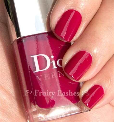 dior vernis  violet graphique graphic berry swatch
