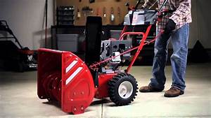 Two-stage Snow Thrower Features