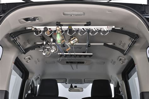 fly rod car rack rod holder fishing inno roof carrier roof box