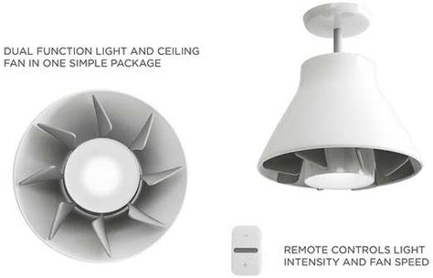 bladeless ceiling fan with light in ceiling fans airlight by 7915