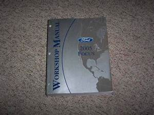 2005 Ford Focus Shop Service Repair Manual Zx3 Zx4 Zx5 Zxw