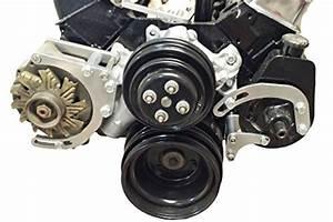 Sbc Power Steering Pump Bracket Billet Adjustable Lwp 350