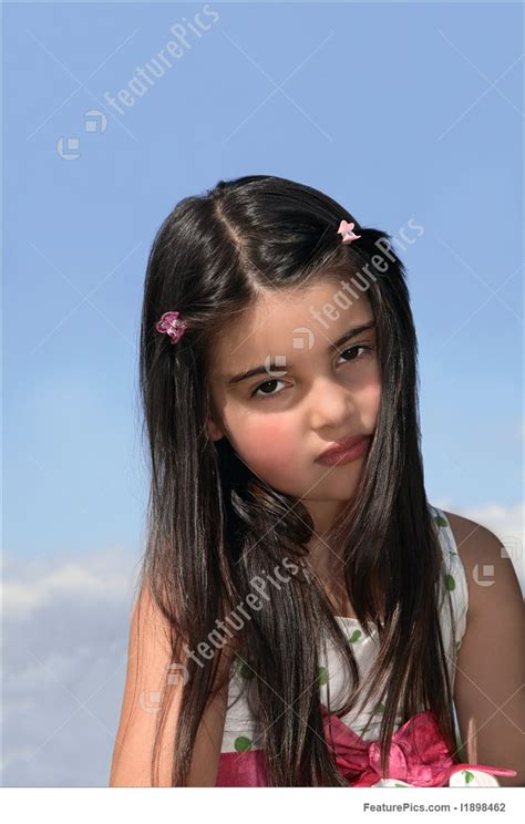 Sadness Expressions Serious Young Girl Stock Picture I1898462 At Featurepics