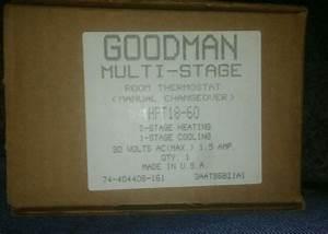 Goodman Thermostat Manual