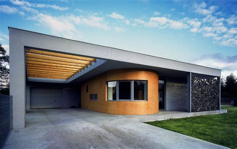 House with a Capsule   Modern Home Poland   e architect