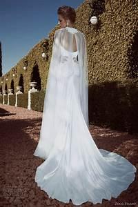 zoog studio 2013 wedding dresses wedding inspirasi page 2 With cape for wedding dress