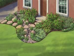Landscape Plan: Water-Wise Garden HGTV