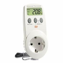 Elektronisches Thermostat Mit Fernfühler : steckdosenthermostat f r infrarotheizung kaufen heizk rper profi ~ Eleganceandgraceweddings.com Haus und Dekorationen