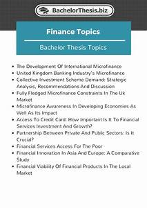 phd thesis topics in finance