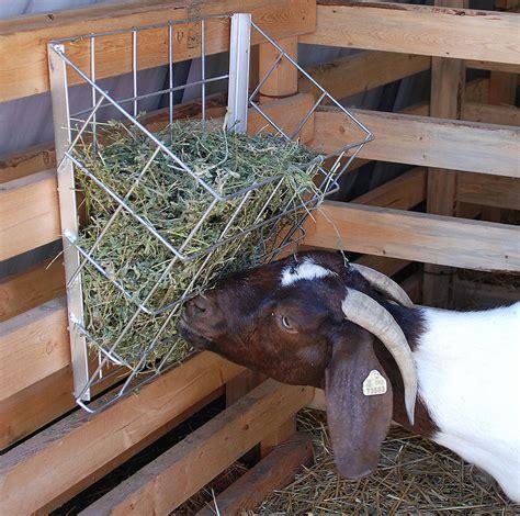 goat hay feeder metal hay basket for goats hay grain feeders