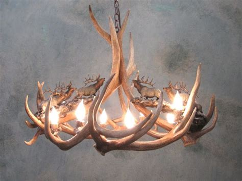 Elk Antler Chandeliers For Sale by Antler Chandeliers For Sale Real Mccoy