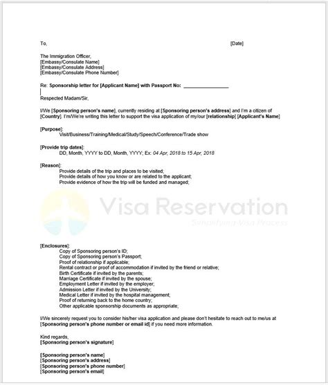 citizens bank cover letter sle sponsorship letter for visa visa reservation