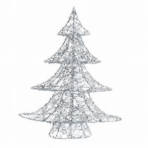 Weihnachtsbaum Metall Design : leucht weihnachtsbaum silver aus metall h64 maisons du monde ~ Frokenaadalensverden.com Haus und Dekorationen