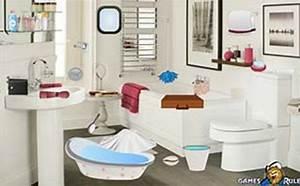 Objet Salle De Bain : jeu salle de bain en bordel objets cach s gratuit ~ Melissatoandfro.com Idées de Décoration