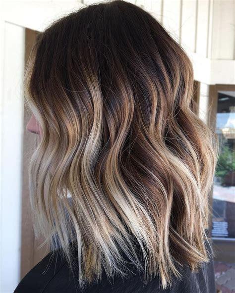 farbverlauf haare braun blond 20 tipps f 252 r braun haare und braun balayage haare