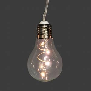 Guirlande Lumineuse Ampoule : guirlande lumineuse ampoule blanc chaud 24 led guirlande lumineuse eminza ~ Teatrodelosmanantiales.com Idées de Décoration
