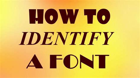 identify  font youtube