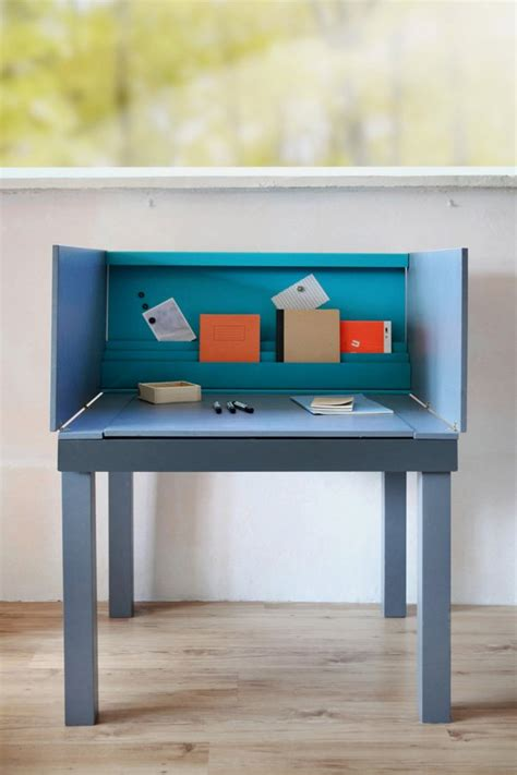 multifunctional desk  small living space  agata nowak  great inspiration