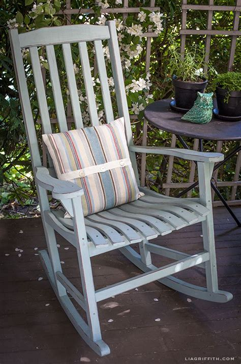 diy vintage painted rocking chairs front porches