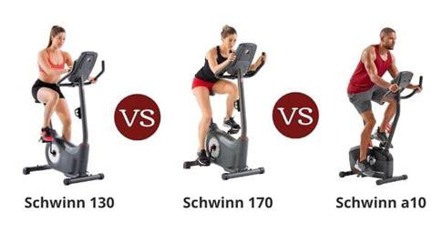 Schwinn 130 vs 170 vs a10 - Upright Bike Series