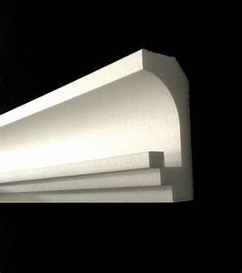 Led Lichtleiste Decke : details zu 16 m led leiste indirekte beleuchtung lichtprofil styroporleiste 2bay005 wand ~ Markanthonyermac.com Haus und Dekorationen