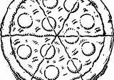 Pizza Drawing Cartoon Drawings Coloring Pages Ramp Wheelchair Paintingvalley Getdrawings sketch template