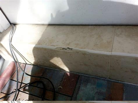 home repair kitchen tile re grout floor tile