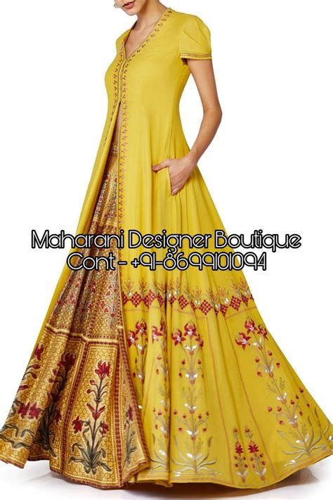 long dresses  collection maharani designer boutique