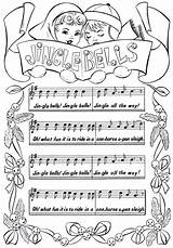 Bells Jingle Printable Sheet Music Coloring Christmas Pages Lyrics Bell Sheets Piano Fairy Thegraphicsfairy Pdf Graphics Books Graphicsfairy Carol Colouring sketch template