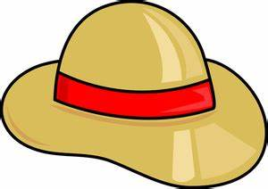 Safari Hat Cartoon