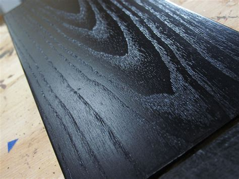 Oil Or Stain For Decking by Ebonizing Ash The Easy Way For Woodworking Projects