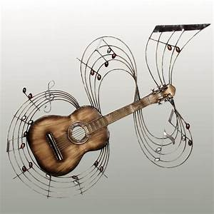 within the music guitar metal wall art With music wall art