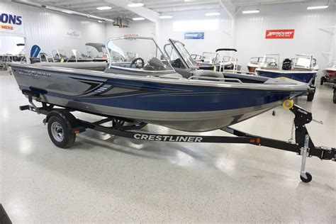 Crestliner Open Boat by Crestliner 1850 Sportfish Sst Boats For Sale Boats